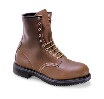 """2233 Redwing 8"""" Lace-up Steel Toe Boot"""