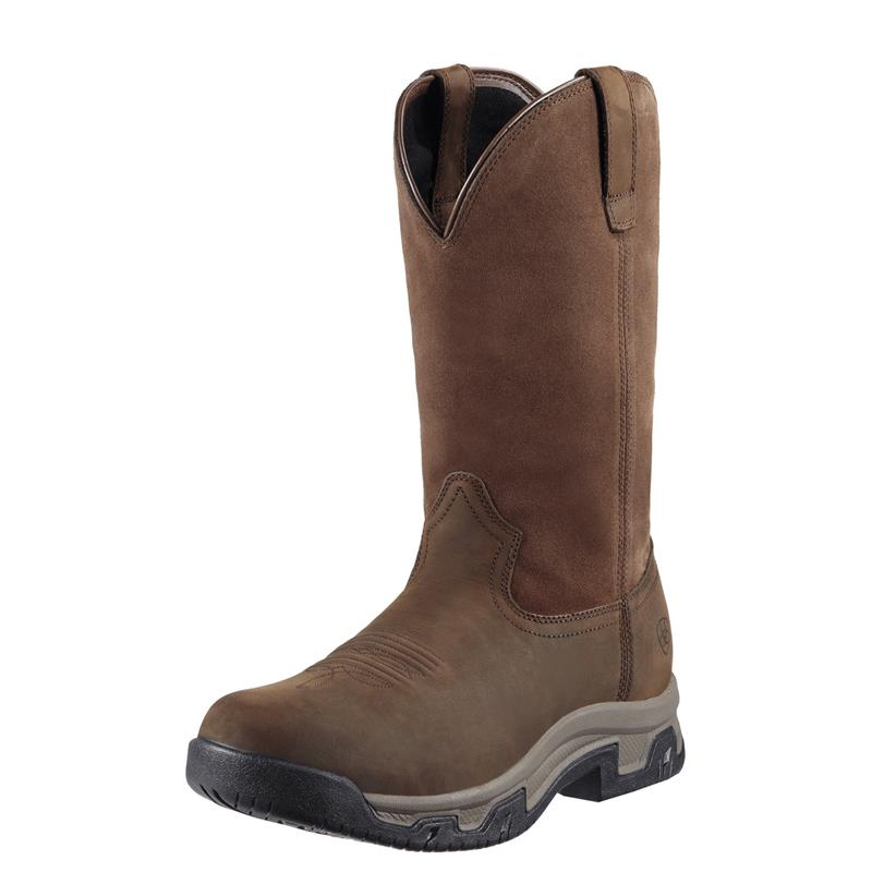 Ariat 10011829 Men S Terrain Pull On H2o Distressed Brown