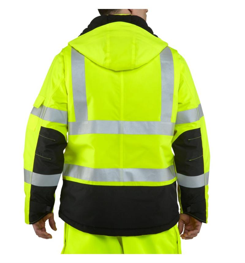 Carhartt 100787 Men S High Visibility Class 3 Sherwood