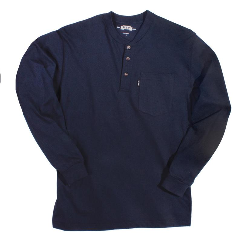 Long Sleeve T Shirts With 3 Buttons