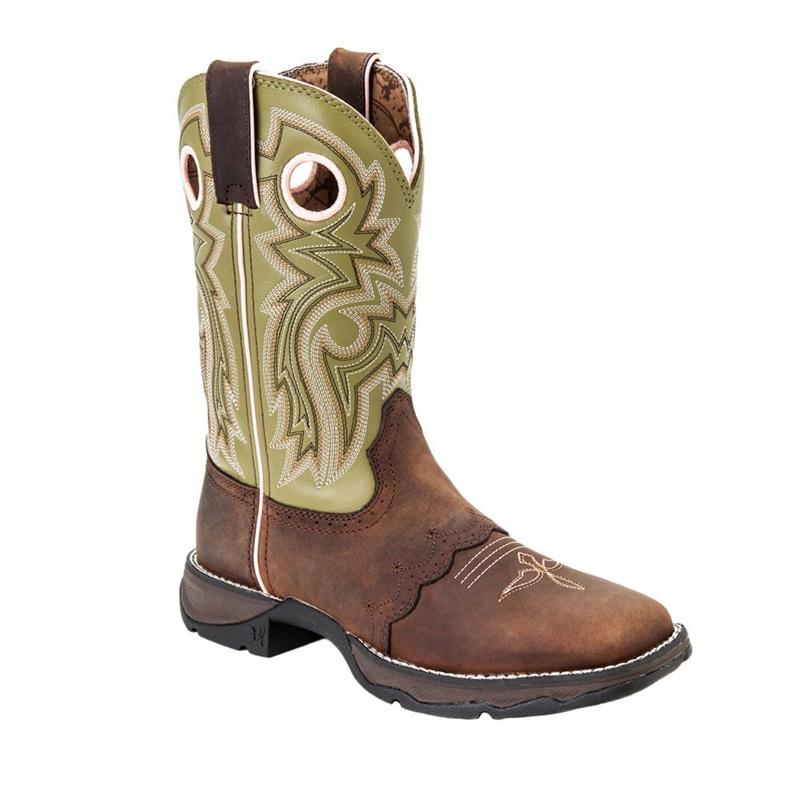 144c5404dcf Durango RD3573 - Lady Rebel Women's Meadow n' Lace Saddle Western Boot