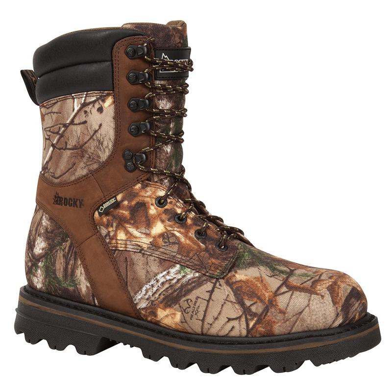 Rugged Performance: Rocky® Hunting Boots for Men. Nothing's better for scouting the woods. Bring home your next kill wearing a pair of Rocky® hunting boots. Each pair of Rocky® boots is crafted for performance in the great outdoors. Take on the cold in insulated hunting boots, designed to .