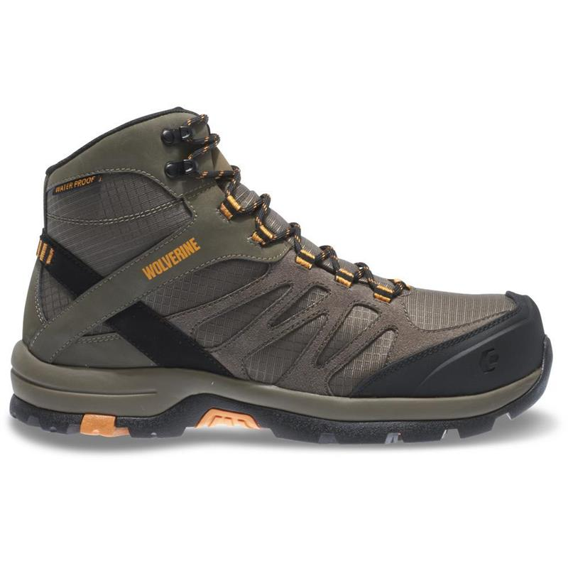 4bb862a112a Wolverine W10492-Men's Fletcher WP Carbonmax Hiking Boot