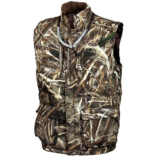5f9cfd5522c48 Drake DW206 - LST Down Vest with Magnattach - Camo