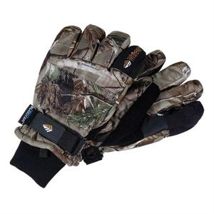 Whitewater Black Deerskin Gloves with Thinsulate Insulation (Size